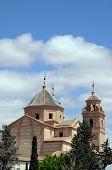 Santa Maria church, Velez Rubio, Spain.