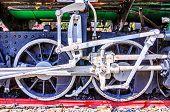 Wheels Steam Locomotive