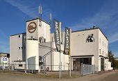 Hertog jan Brauerei in Arcen.