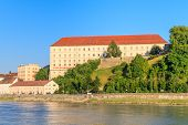 Linz, View On Castle, Upper Austria