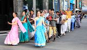 Devotees from Hare Krishna in Almaty