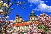 Benedictine abbey in Melk, Austria
