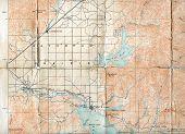 1903 Folded Map of Rathdrum Prairie, Idaho