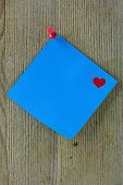 Blue Valentine Note