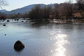 Winter on Animas River...