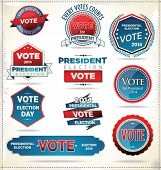 Election Badges And Labels 2.