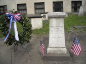 stock photo of paul revere  - This is the gravesite of the famous patriot Paul Revere - JPG