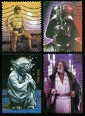 Star wars uns Briefmarken