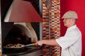 Cook Backen pizza