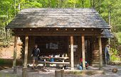 Partnership Shelter on the Appalachian Trail - Virginia