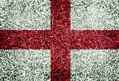English Great Britain Flag Color Grass Texture Background