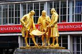 Boulton, Watt and Murdoch statue, Birmingham.