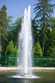 The Menager Fountains in a sunny day