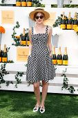 JERSEY CITY, NJ-MAY 31: Actress Dakota Johnson attends the 7th Annual Veuve Cliquot Polo Classic at Liberty State Park on May 31, 2014 in Jersey City, NJ.