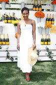 JERSEY CITY, NJ-MAY 31: Actress Vicky Jeudy attends the 7th Annual Veuve Cliquot Polo Classic at Lib