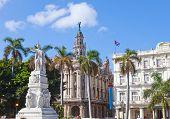 Cuba. Havana. Jose Marti monument in Central Park.