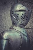 image of breastplate  - Spanish military armor - JPG