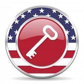key american icon, usa flag
