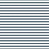 Thin Navy Blue And White Horizontal Striped Textured Fabric Background