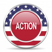 action american icon, usa flag