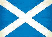 A grunge scottish flag for you