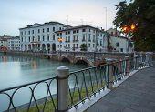 Ponte Dante, Treviso at Night