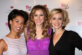LOS ANGELES - MAY 31:  Angel Parker, Brianna Brown, Sara Wells at the