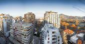 Apartments in a city, Providencia, Santiago, Chile