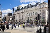 Regent street, Piccadilly circus junction