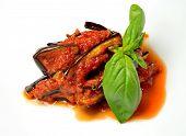 Постер, плакат: Sicilian Eggplant Recipe