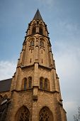 Holy Cross Church In Aachen, Germany.