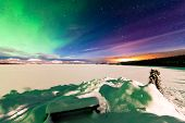Aurora Borealis Whitehorse Light Pollution Yukon