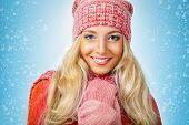 woman wearing knitwear