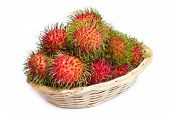Rambutan - Asian Fruit.