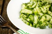 Cucumber Salad With Dill