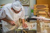 Japanese Sushi Chef