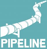 pipeline sign - pipeline design