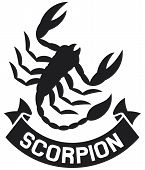 scorpion label
