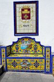 Bench From Andalusian Tiles