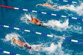 Makedonian Swimming Race Greece