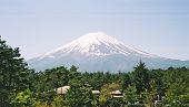 Постер, плакат: Гора Фудзи