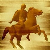 stock photo of great horse  - Alexander the Great - JPG