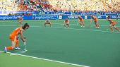 THE HAGUE, NETHERLANDS - JUNE 2: Dutch van As is tanking a corner during the match The Netherlands -