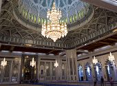 Sultan Qaboos Grand Mosque interior