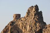 Historic Tower In Muscat