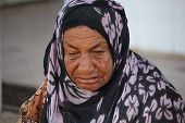Old Arab woman