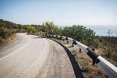 South road along the black sea