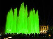 Montjuic (magic) Fountain poster