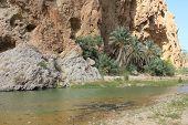 Wadi Shab, Sur, Oman.