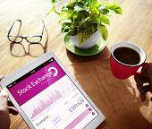 Stock Exchange Online Digital Device Concepts